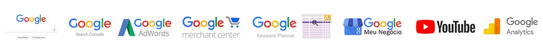 Família de Ferramentas Google para o Marketing Digital do seu negócio