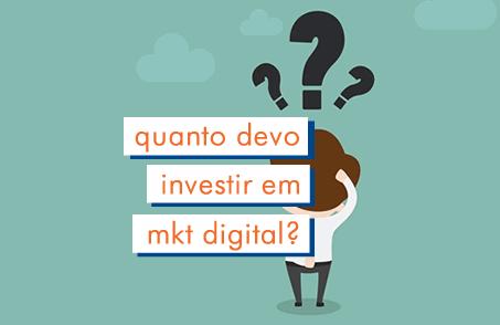 Qual o investimento mínimo para vender na internet?